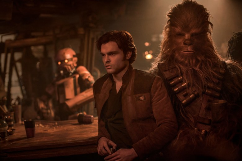 Solo: Han and Chewie