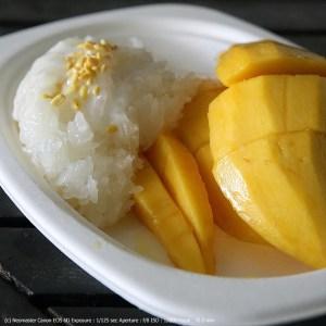 Pa Jieu - mango & sticky rice
