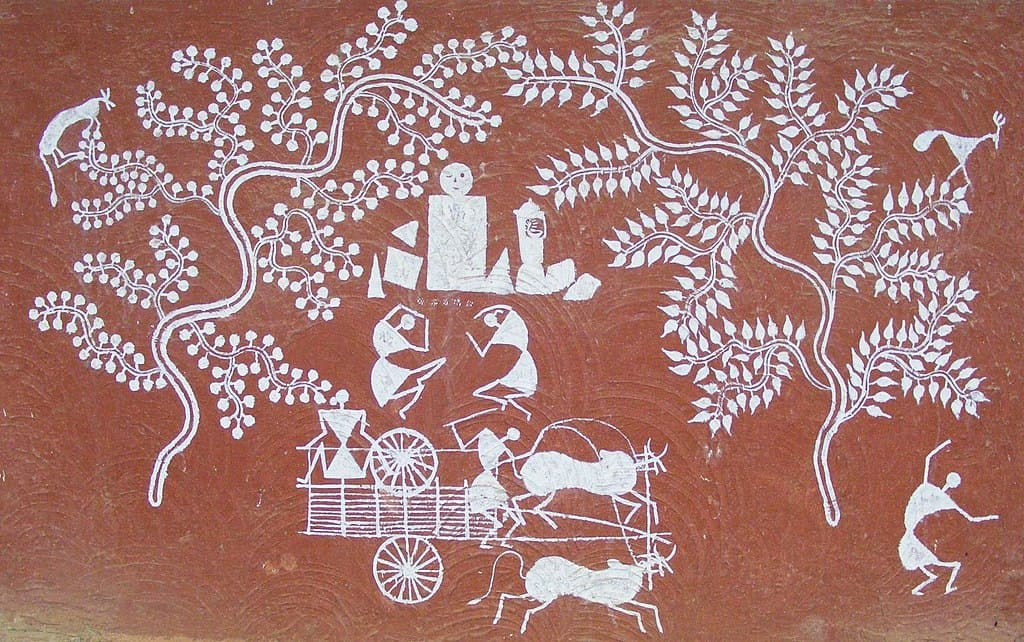 WARLI PAINTINGS FROM MAHARASHTRA