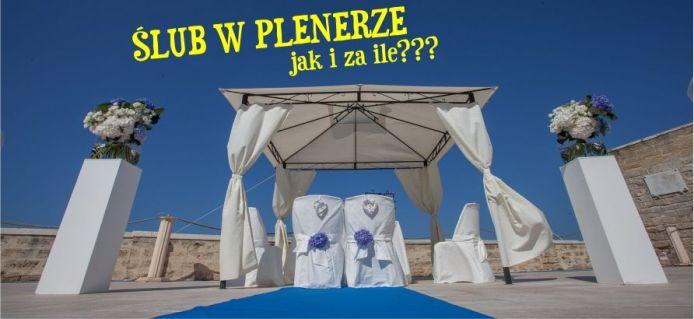Ślub w plenerze - obsługa i organizacja ślubów i wesel