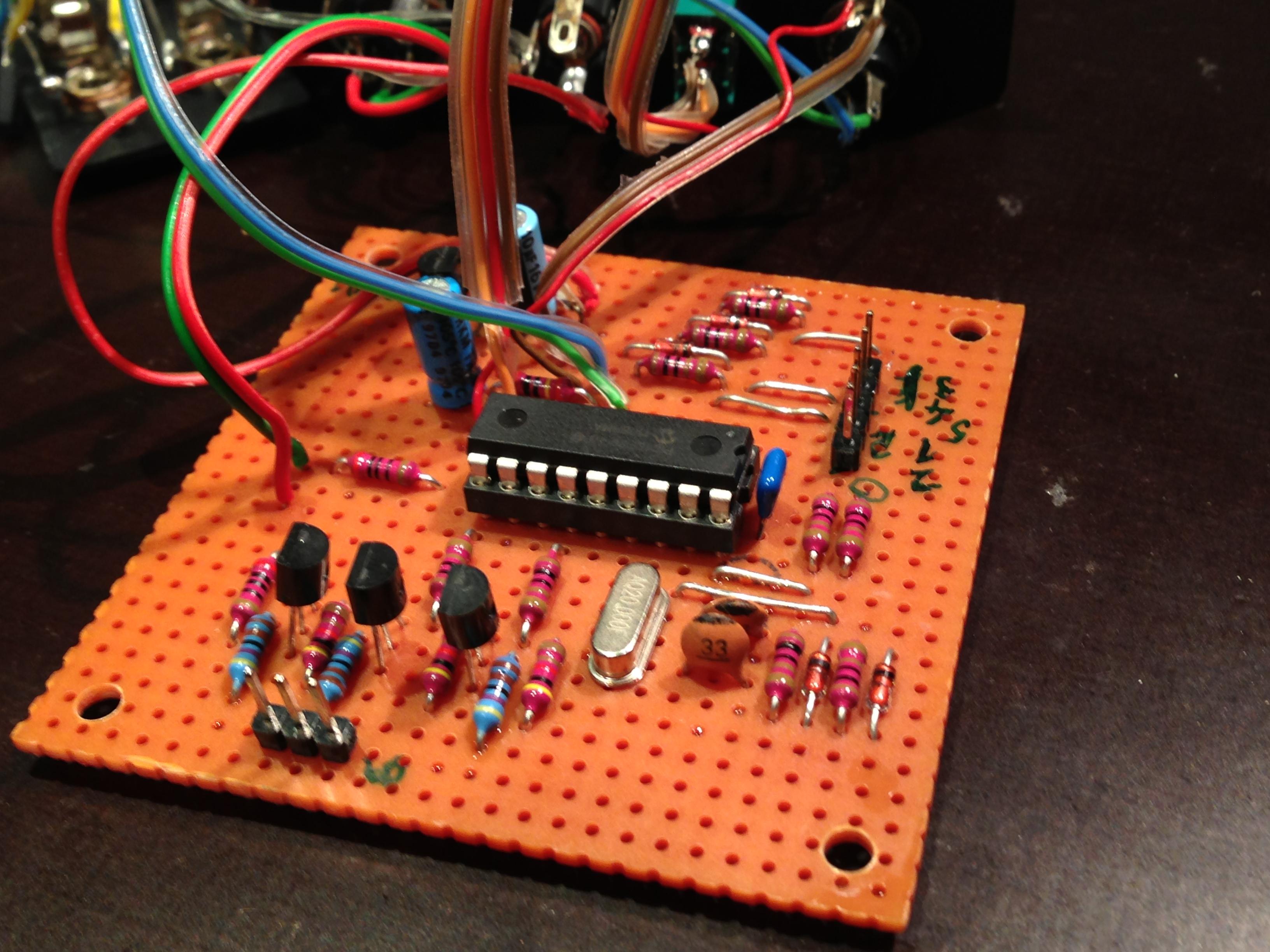 Simple Electronic Drum Circuit Using Mc14046