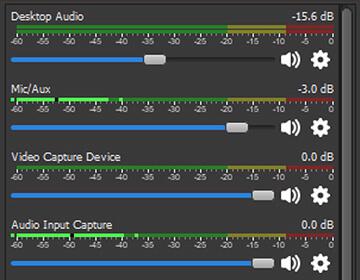 Mezclador de audio / obsproject.com
