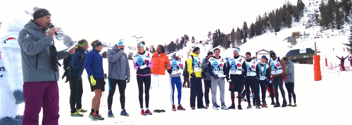 Les champions avec notamment Laetitia Roux, Marie-José Perec, Fred Belaubre…
