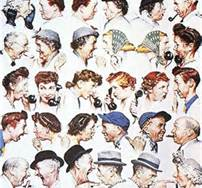 "Gossip can be like a virus. It reveals poor character, causes pain and leads to damaged and destroyed relationships. - – - – - – - – - - Pictured here is one of my favorite works by Norman Rockwell. Rockwell's iconic paintings were featured on the covers of the Saturday Evening Post; a staggering 322 covers over a period of 47 years. - – - – - – - – - - ""How would your life be different if… you walked away from gossip and verbal defamation? Let today be the day… you speak only the good you know of other people and encourage others to do the same."" ― Steve Maraboli, Life, the Truth, and Being Free"