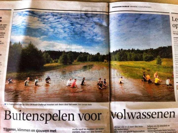 Eindhovens Dagblad Obstacle Running 1