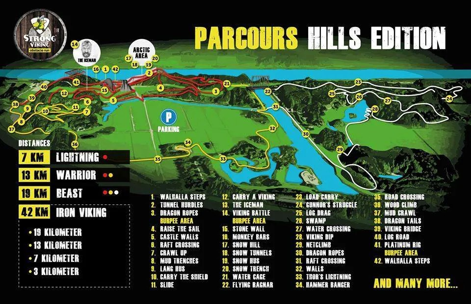 Parcours Strong Viking Hills Edition