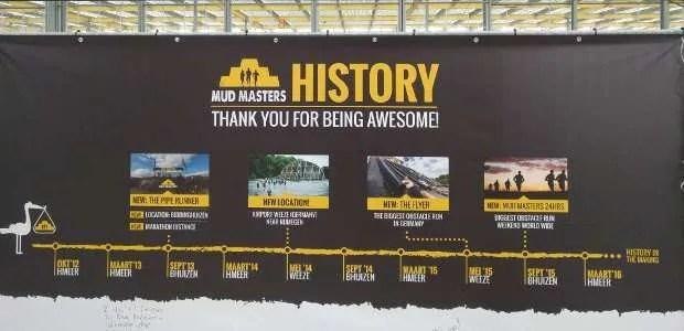 Mud Masters Geschiedenis