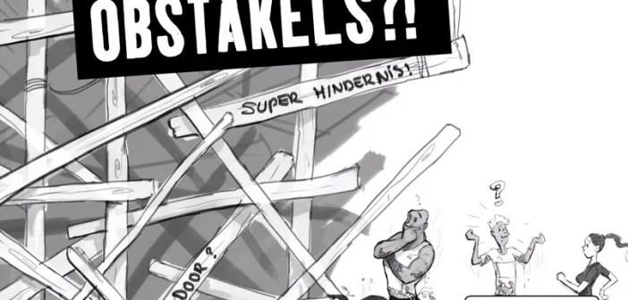 obstakels van de Strongmanrun