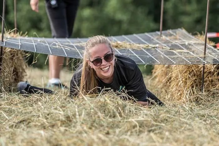 outdoor valley obstacle run