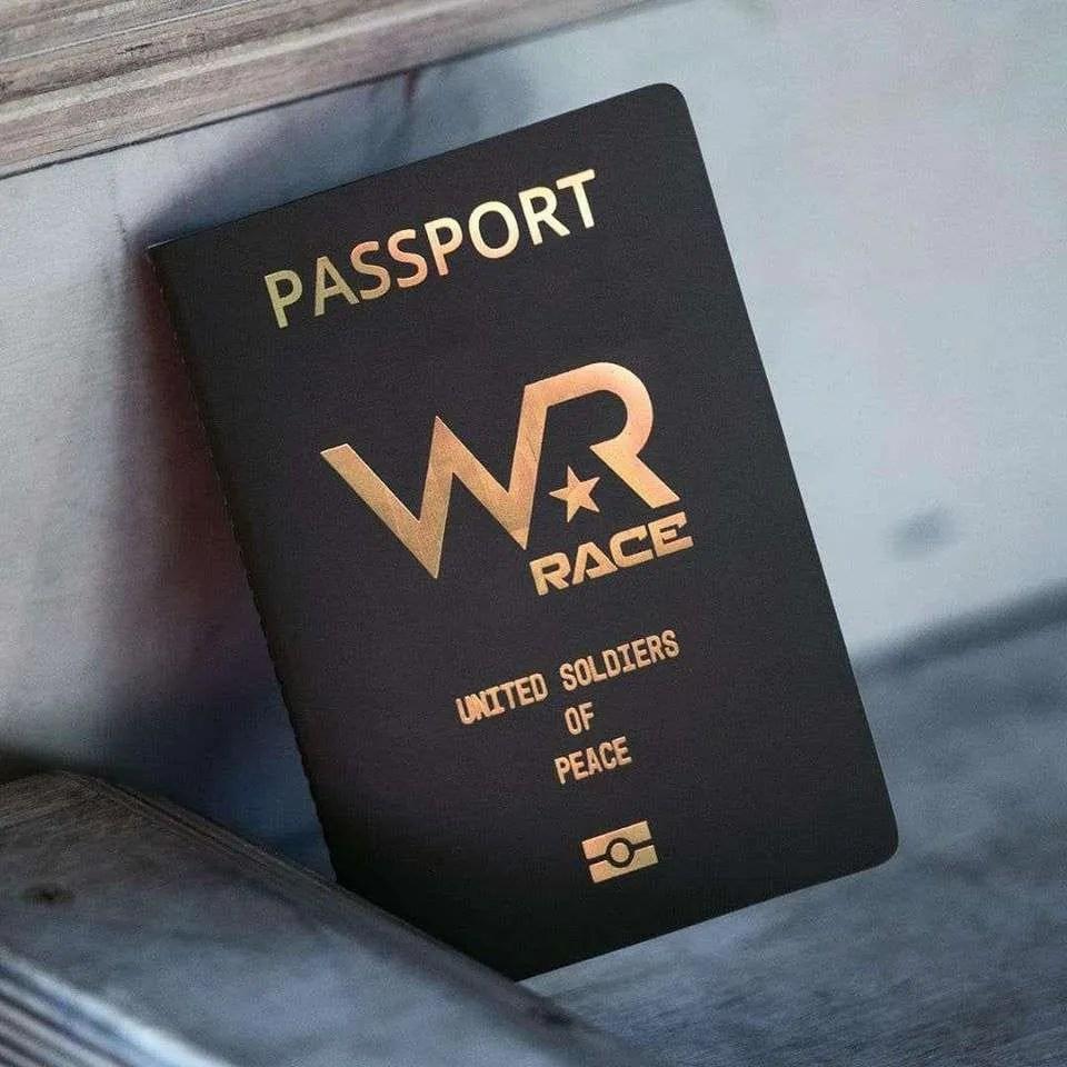 War Race paspoort