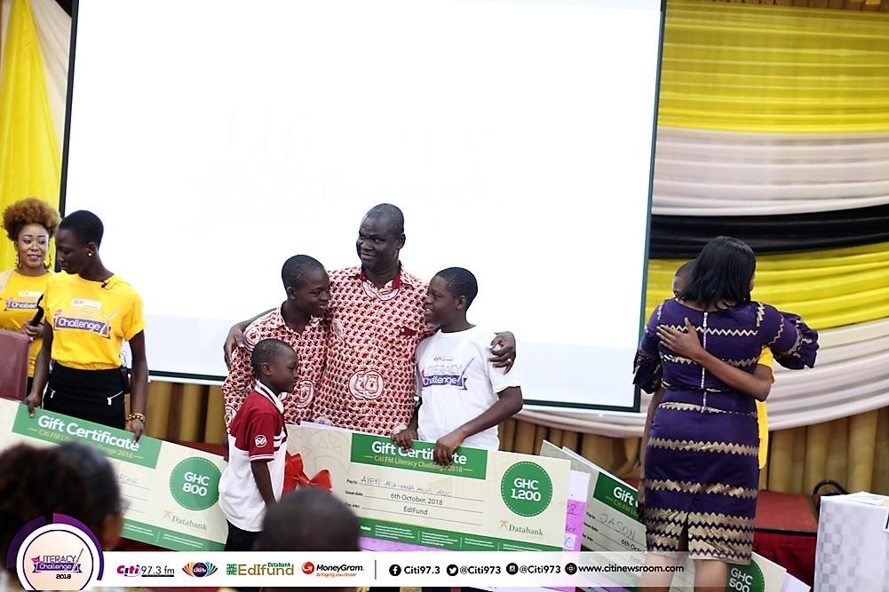 Christ the King's Ayeyi Atta Kakra Anim-Addo wins 2018 Literacy Challenge