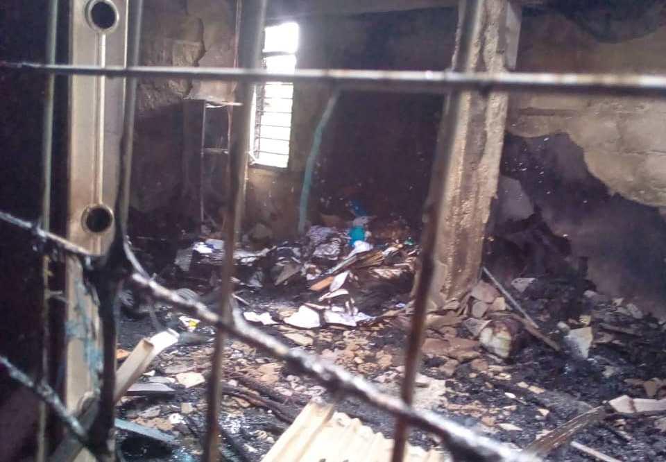 Fire Service investigates inferno at Ashanti Regional GES