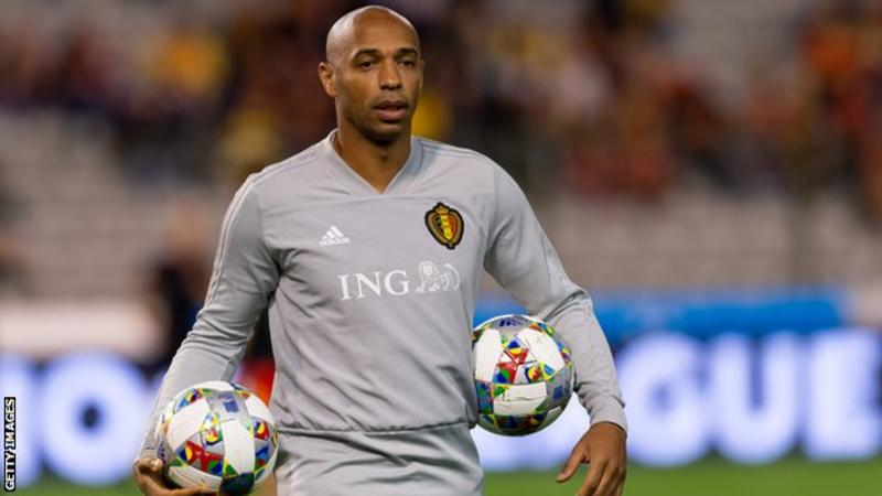 Monaco appoint ex-Arsenal striker Thierry Henry as head coach