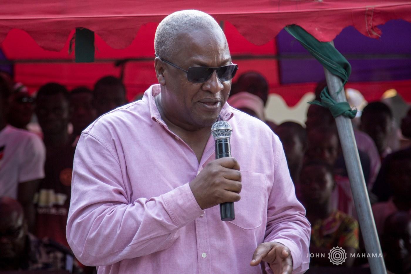 Suspending Tempane SHS head wrong, NPP is intolerant – Mahama