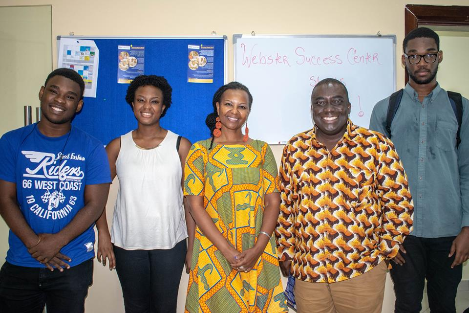 Webster University Ghana launches Success Center
