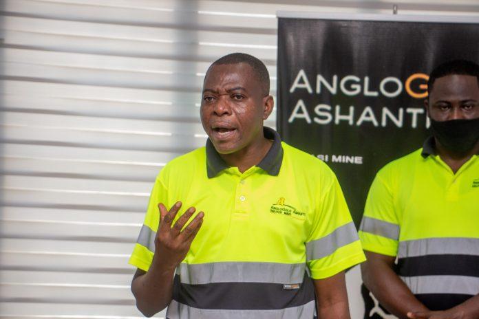 Emmanuel Baidoo, Senior Manager, Sustainability at the AngloGold Ashanti Ghana, Obuasi Mine
