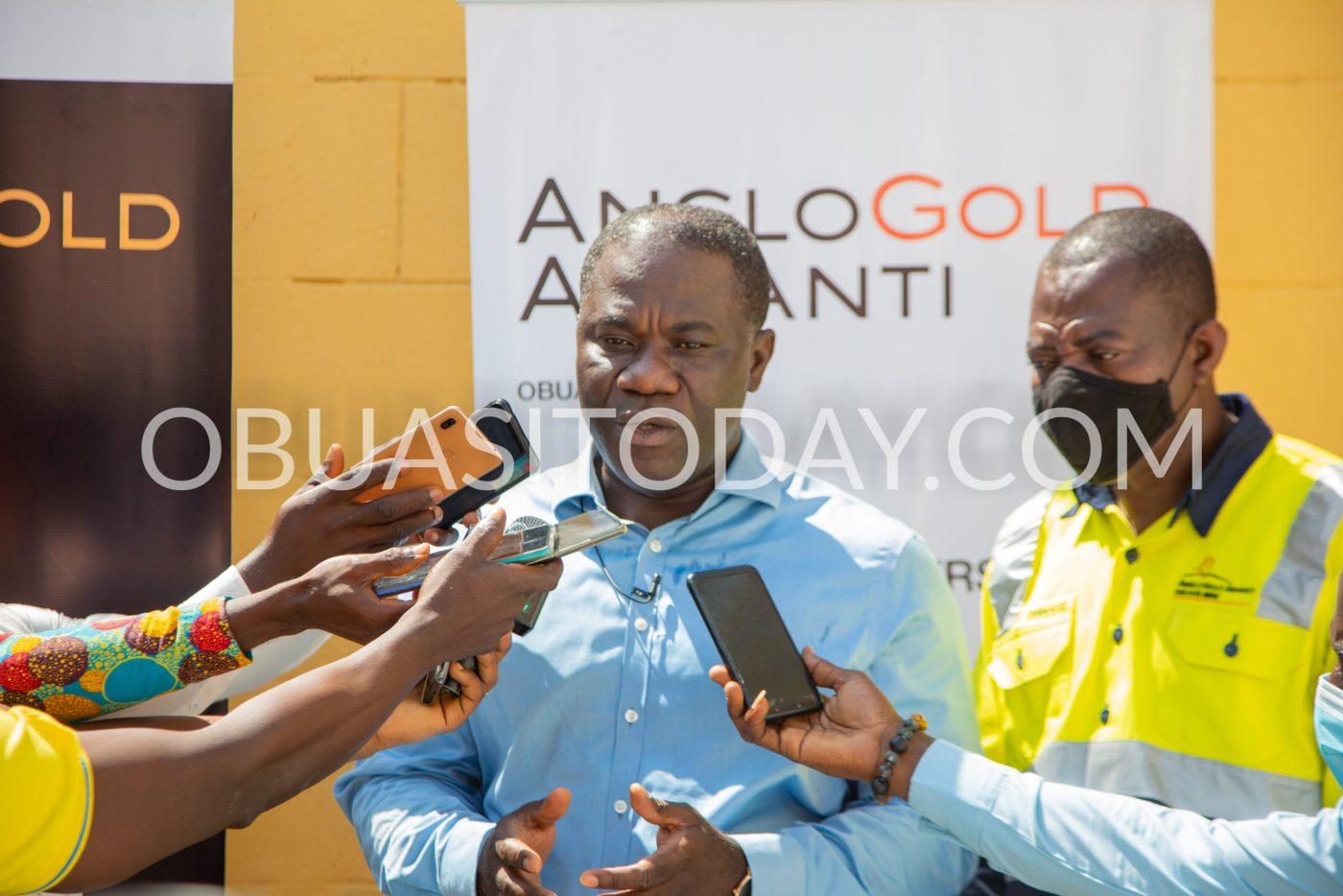 Managing Director of Anglogold Ashanti Ghana, Eric Asubonteng