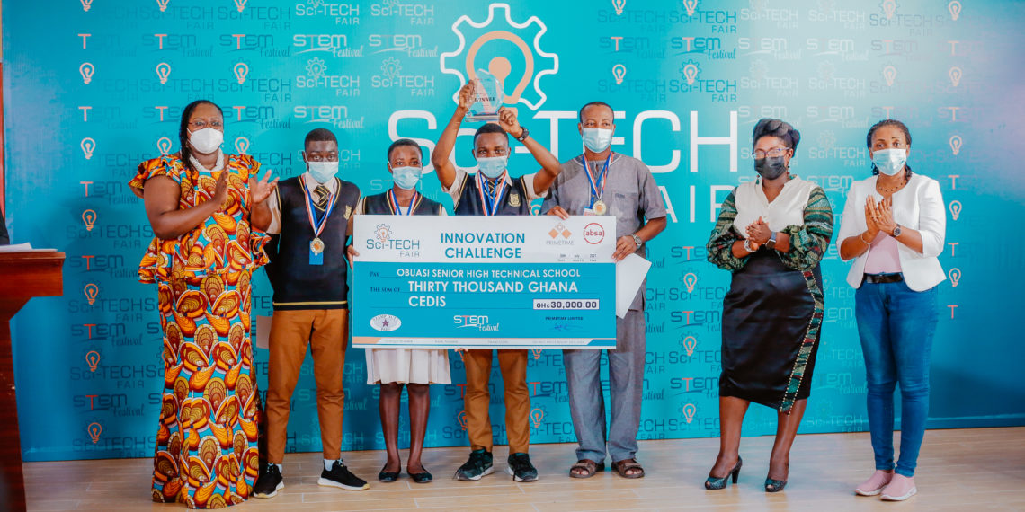 Obuasi Sec Tech Wins Maiden Edition of Sci-Tech Innovation Challenge-Takes home GH¢20,000 cash