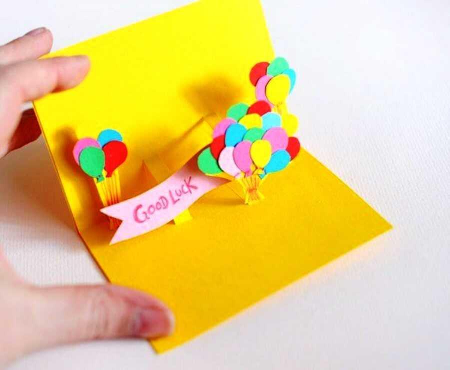 Картинки смешные, детская открытка на день рождения своими руками от ребенка