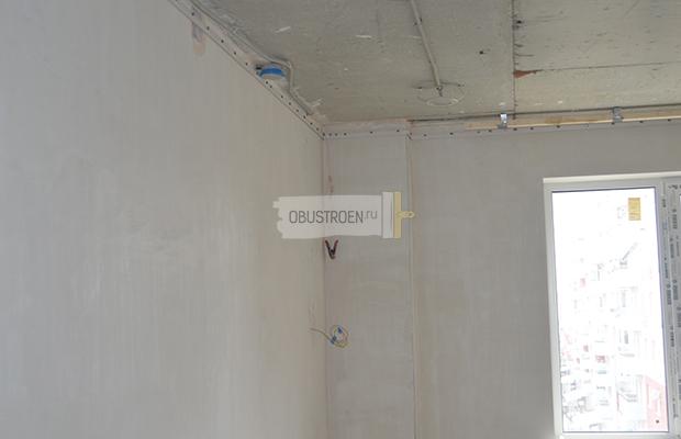 Sadrokartonovy strop postup prace