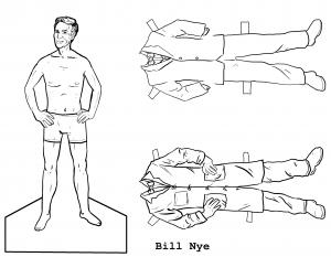 Scientist Paper Dolls