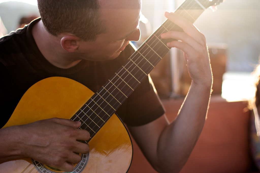 Spanish guitar off the Lycian coast