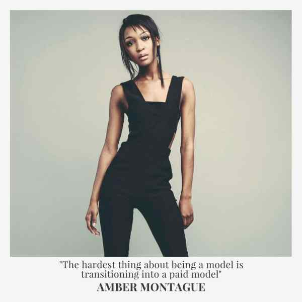 AMBER MONTAGUE QUOTE