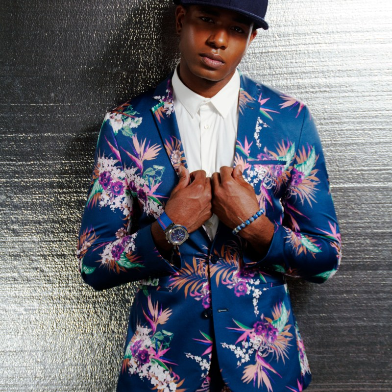 Floral Suit: ASOS. Model: Keith Van Nelson | Photographer/Stylist: Jerris Madison