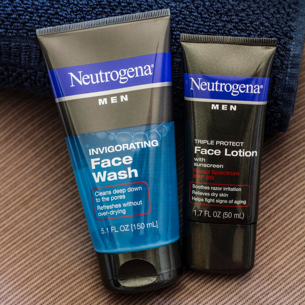 Best Affordable Skincare - Neutrogena Men
