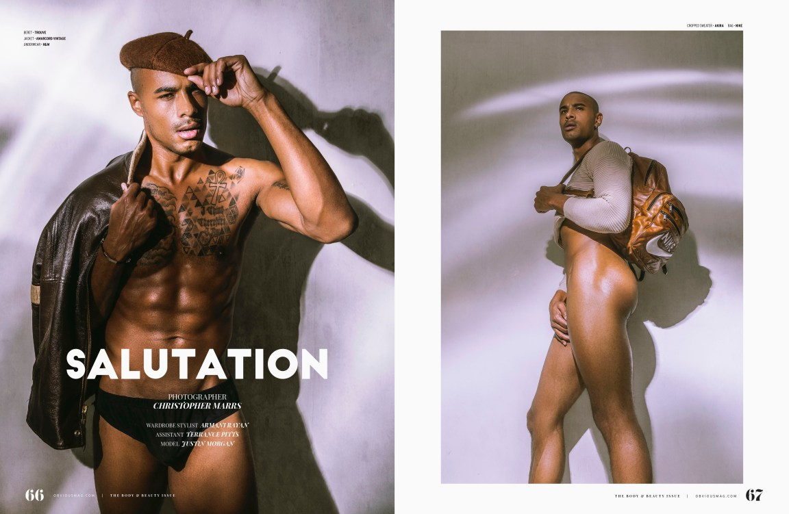 Salutation | Justin Morgan