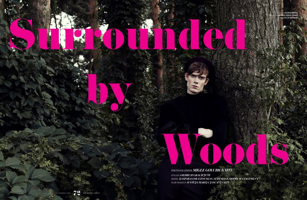 Surrounded by Woods