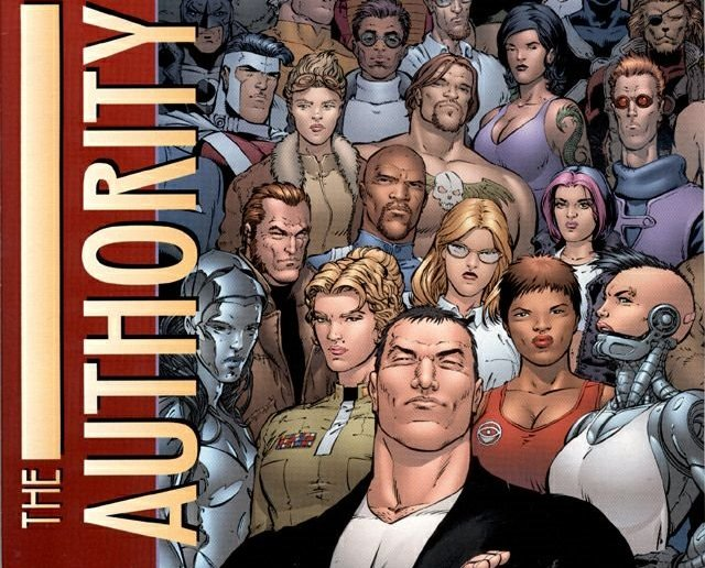 O Authority de Mark Millar e Frank Quitely.
