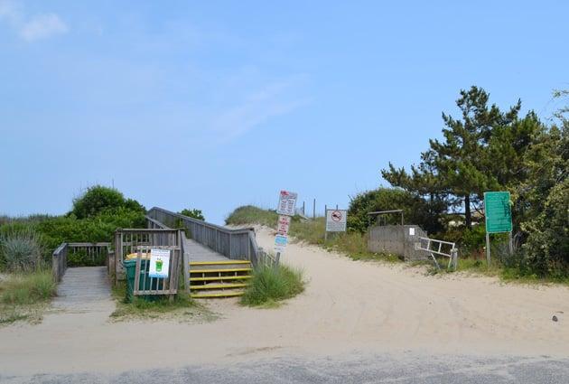 albacore-beach-access-2