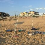 Litter on the Outer Banks beaches
