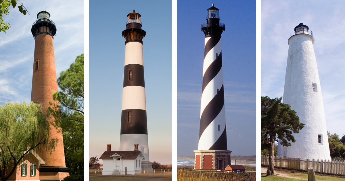 Image result for Outer Banks lighthouses