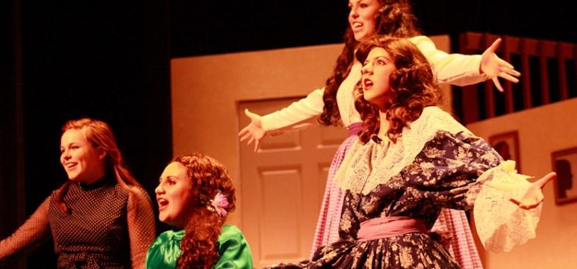 'Little Women' - final dress rehearsal on 3/22/12
