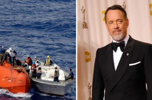 Tom Hanks will play real life ship Captain Richard Phillips, was rescued from Somali pirates on April13, 2009 in the Indian Ocean.