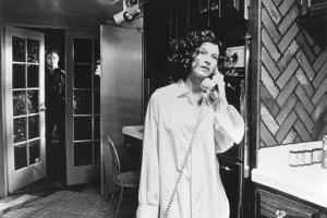Michael Myers stalks Nancy Kyes in 'Halloween' (1978).
