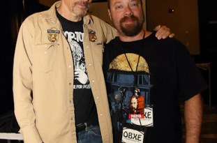 'The Devil's Rejects' star Bill Moseley with OBXentertainment.com Editor In Chief Matt Artz at Blood at the Beach III in Virginia Beach, VA, May 11, 2013.