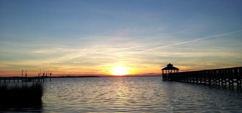 Outer Banks Sunset, Kill Devil Hills - 12/19/13
