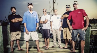 The Outer Banks captains featured on 'Wicked Tuna: North vs South'.