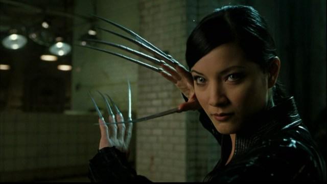 Kelly Hu is Lady Deathstrike 'X2: X-Men United'.
