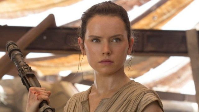Daisy Ridley is Rey in 'Star Wars: The Force Awakens'.