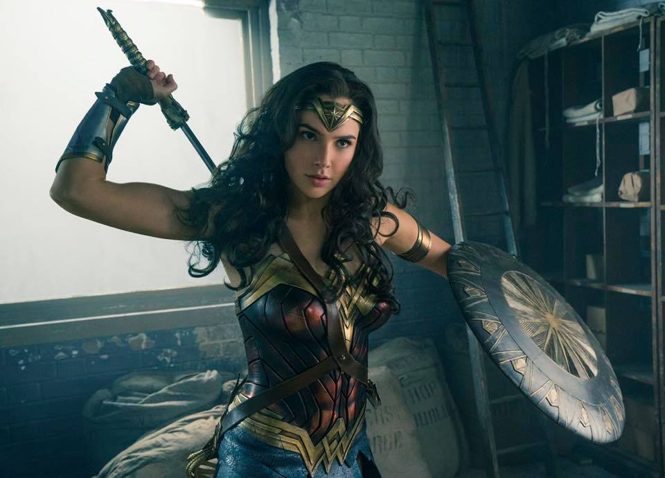 Gal Gadot is 'Wonder Woman'.
