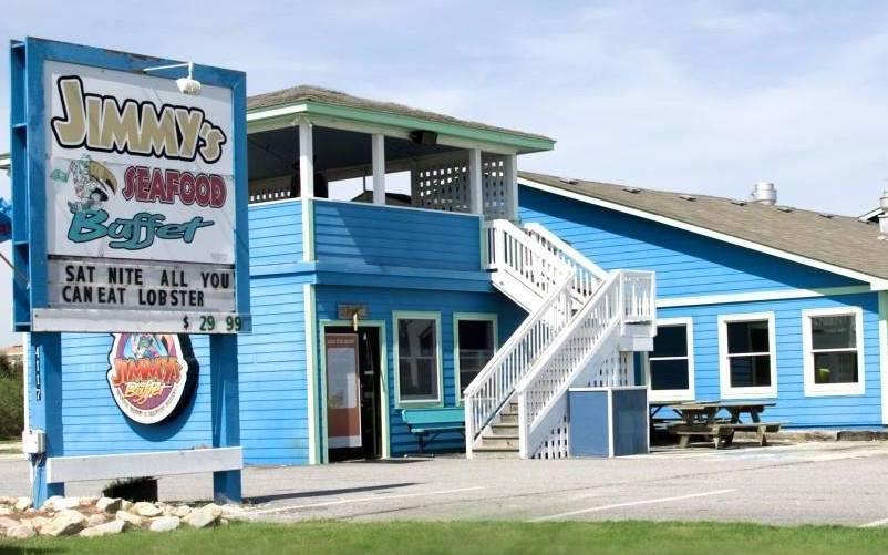 Jimmy's Seafood Buffet in Kitty Hawk.