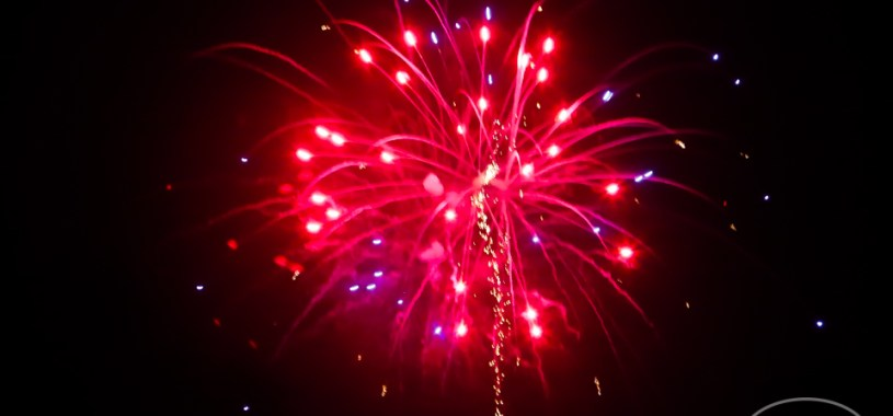 Independence Day Fireworks in Kill Devil Hills, July 7, 2017 (photo by OBX Entertainment)