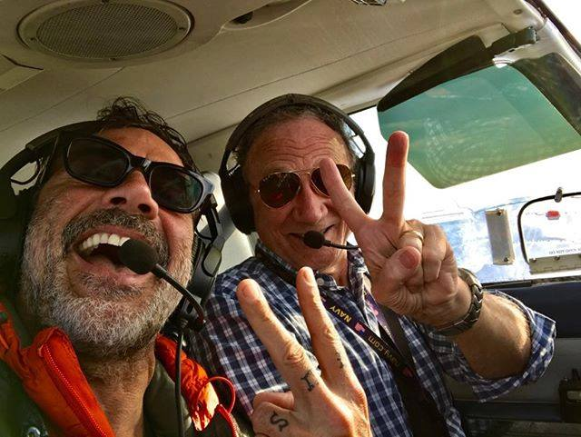 'Walking Dead' Star Jeffrey Dean Morgan Soars with Outer Banks Airlines