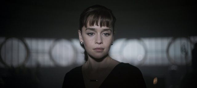 Emilia Clarke is Qi'ra in 'Solo: A Star Wars Story'.