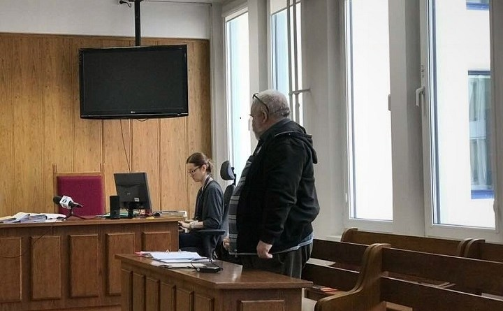 Maciej Bajkowski w Sądzie Rejonowym dla Warszawy Śródmieście