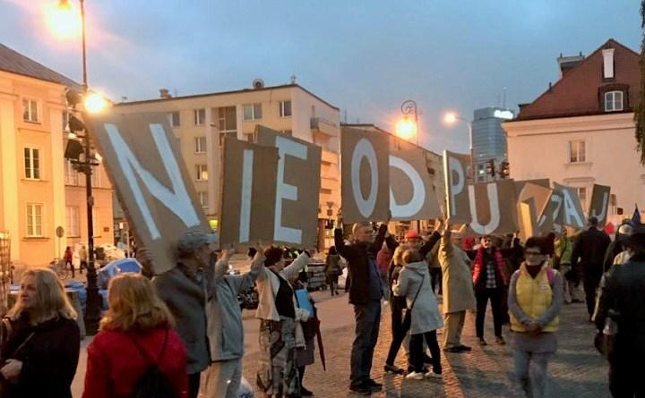 Demonstracja przed SN, Warszawa, 25 czerwca 2018